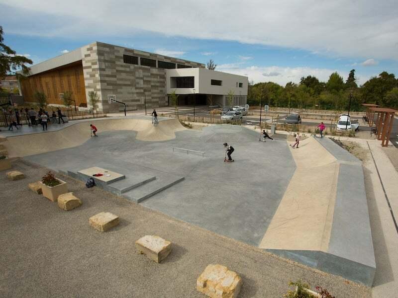 territoire skatepark espace de glisse saint chamas